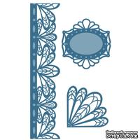 Лезвие Sue Wilson - French Collection - Corner, Border & Tags