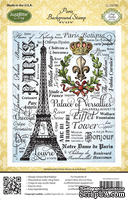 Штамп от JustRite - Paris Background Stamp