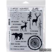 Резиновые штампы от Stampers Anonymous - Tim Holtz - Great Outdoors