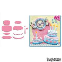 Лезвие Marianne Design - Collectalbe Dies - Birthday Cake