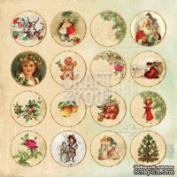 Лист высечек от Craft and You Design - Christmas Story,  30х30 см, CP-CS09