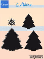 Лезвие Marianne Design Craftable Dies - Christmas Tree Set