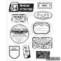 Набор акриловых штампов Marianne Design - Clear Stamps - Vintage Labels & Tickets