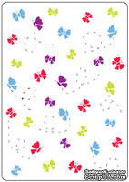Папки для тиснения Crafts Too Embossing Folder -Butterflies