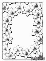 Папки для тиснения Crafts Too Embossing Folder - Tulip Frame