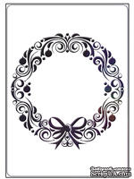 Папки для тиснения Crafts Too Embossing Folder - Wreath