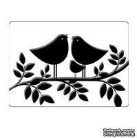 Папка для тиснения Crafts Too Embossing Folder - Tweet Tweet