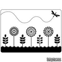 Папка для тиснения Crafts Too Embossing Folder - Spring Garden