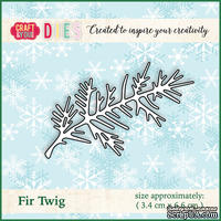 Ножи от от Craft&You Design - Fir Twig, 3,4 x 6,6 см