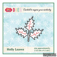Ножи от от Craft&You Design - Holly Leaves, 4,5 x 4,1 см