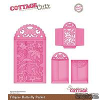 Лезвие CottageCutz Filigree Butterfly Pocket