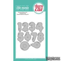 Лезвие Avery Elle - Die - Numbered Balloons Elle-ments