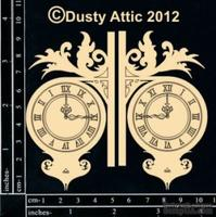 Чипборд от Dusty Attic - Wall Clock №2