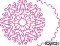 Ножи от Cheery Lynn Designs -Snowflake Doily w/Angel Wing