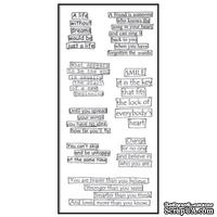 Акриловый штамп Ranger - Dyan Reaveley - Dylusions - Clear Stamps - Clearly The Right Words