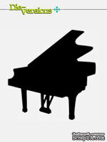 Лезвие Die-Versions - Sweet Petites - Grand Piano - ScrapUA.com