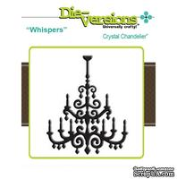 Лезвие Die-Version Dies - Whispers - Crystal Chandelier - ScrapUA.com