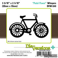 Лезвие Die-Versions - Whispers - Bicycle - ScrapUA.com