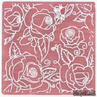 Папка для тиснения Nellie Snellen - Embossing Folder - Large Roses