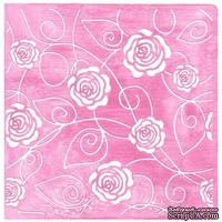 Папка для тиснения Nellie Snellen - Embossing Folder - Small Roses