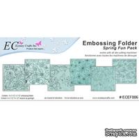 Набор папок для тиснения Nellie Snellen - Embossing Folders - Spring Fun Pack (6)