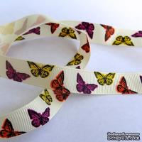 Лента Eyelet Outlet - Butterfly Ribbon, ширина 15 мм, длина 90 см