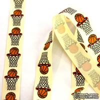 Лента Eyelet Outlet - Basketball Ribbon  , ширина 18 мм, длина 90 см