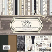 Набор скрапбумаги и декора Fancy Pants - Country Boutique Collection Kit, 30х30 см