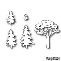 Лезвие Frantic Stamper - Precision Die - Village Trees and Shrubs