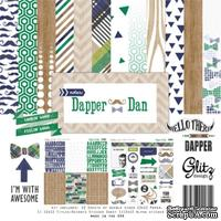 Набор бумаги от Glitz Design - Dapper Dan Collection Pack, 30х30 см