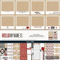Набор скрапбумаги и декора Teresa Collins - Hello My Name Is - Collection Pack - ScrapUA.com