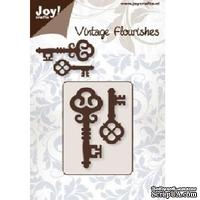 Лезвие Joy Crafts - Vintage Flourishes - Cutting Keys 1 - Ключи, 2 шт