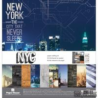 Набор скрапбумаги от Paper House - Paper Crafting Kit - New York City, 30 x 30 см