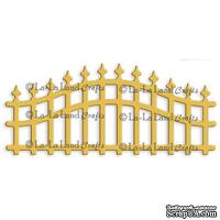 Лезвие La-La Land Crafts - Wrought Iron Fence