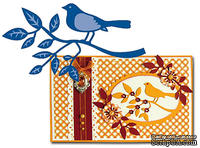 Лезвие Marianne Design Creatables - Bird on Branch
