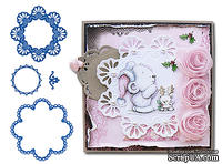 Набор лезвий Marianne Design Creatables - Scalloped Circles