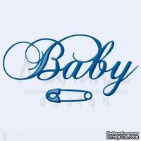 Набор лезвий Marianne Design Creatable - Baby Text and Safety Pin
