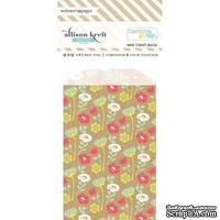 Конвертик Webster's Pages - Bulk Bags Floral: Kraft, размер 10х7 см, 1 шт.
