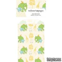 Конвертик Webster's Pages - Bulk Mini Bag Small Elephants, размер 10х7 см, 1 шт.
