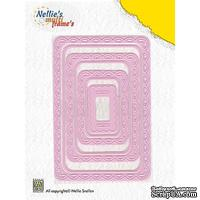Лезвие Nellie Snellen Multi Frame Dies - Rectangle (set of 7)