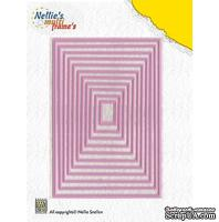 Лезвие Nellie Snellen Multi Frame Dies - Straight Rectangle