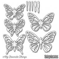 Лезвие My Favorite Things - Die-namics Flutter of Butterflies - Lace, 10 шт.