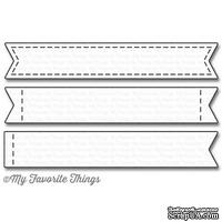 Лезвие My Favorite Things - Die-namics Stitched Sentiment Strips, 3 шт.
