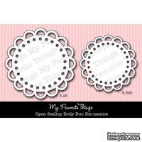 Набор лезвий My Favorite Things - Die-namics Open Scallop Doily DUO