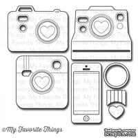 Лезвие My Favorite Things - Die-namics LLD Cute Cameras 2