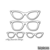 Левие My Favorite Things - Die-namics Geek Is Chic Glasses, 4 штуки (MFT514)