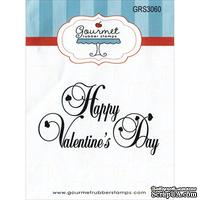 Резиновый штамп от Gourmet Rubber Stamps - Gourmet Rubber Stamps Cling Stamps  - Happy Valentine's Day