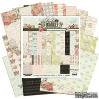 Набор бумаги Paislee - London Market 12x12 Paper Collection Pack, 30х30 см