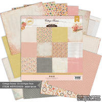 Набор бумаги от Pink Paislee - Cottage Farms - 12x12 Collection Pack, 24 листа