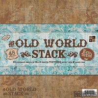 Набор бумаги DCWV - Old World Paper Stack, 30х30 см, 24 листа - ScrapUA.com